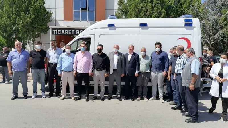 Ereğli Ticaret Borsası Hastaneye Ambulans Kazandırdı