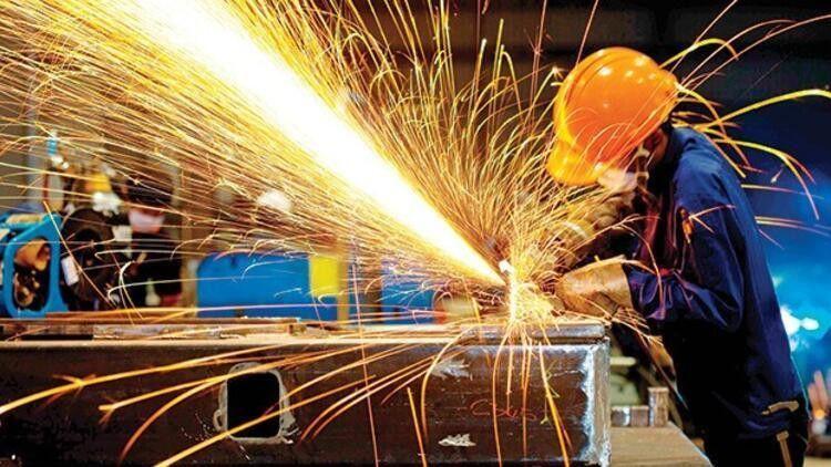 Sanayi üretimi yıllık yüzde 23,9 arttı
