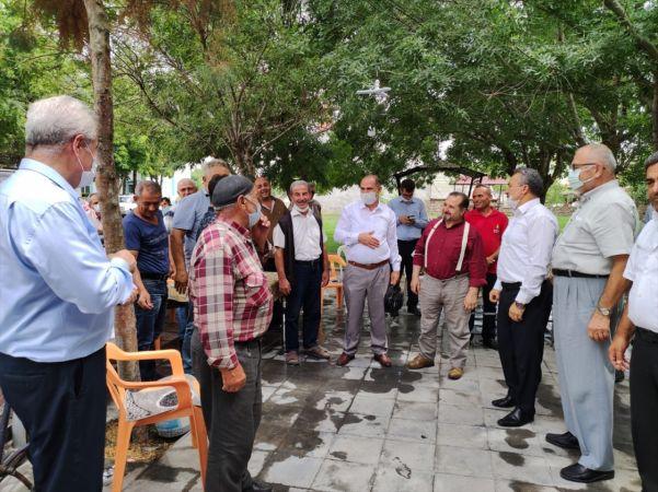 AK Parti Konya Milletvekili Özdemir Seydişehir'i ziyaret etti