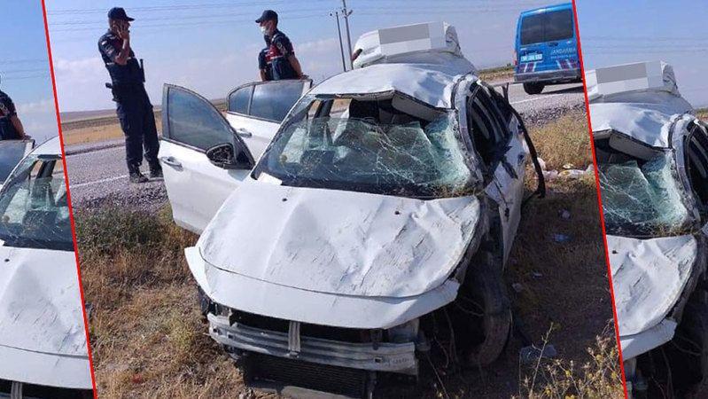 Otomobil şarampole devrildi! Ölü ve yaralılar var