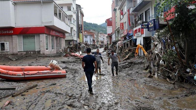 Sel felaketindeki acı haberleri Bakan Koca verdi!