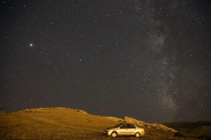 Konya'da Perseid Meteor Yağmuru