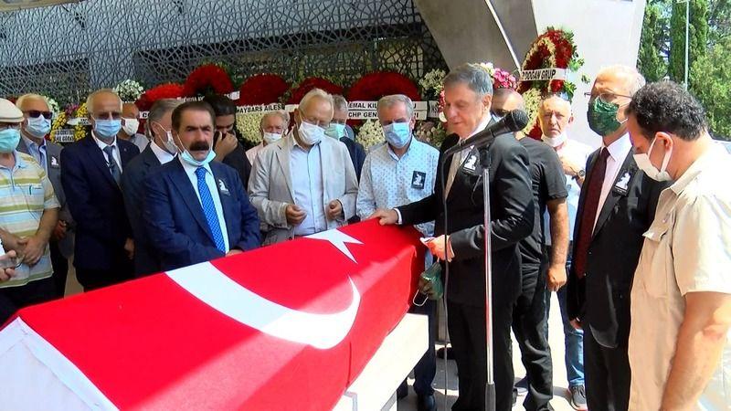 Eski bakan Ali Talip Özdemir'in eşi defnedildi
