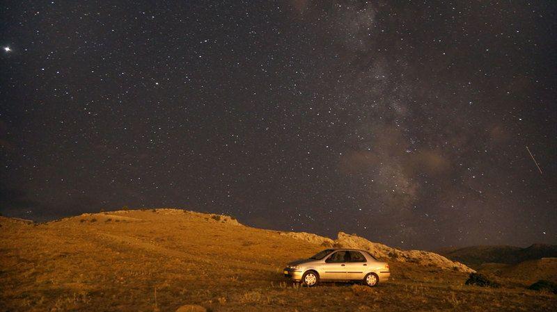 Perseid Meteor Yağmuru Ereğli'den böyle gözlendi