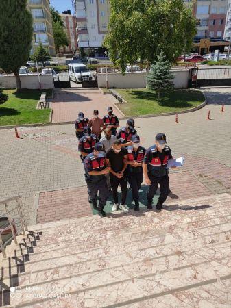 Seydişehir'de kablo hırsızları suçüstü yakalandı