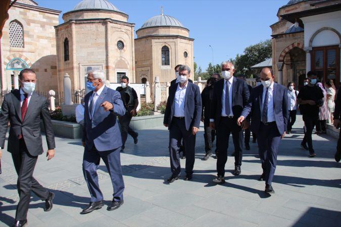 Kültür ve Turizm Bakanı Mehmet Nuri Ersoy, Mevlana Müzesi'ni ziyaret etti
