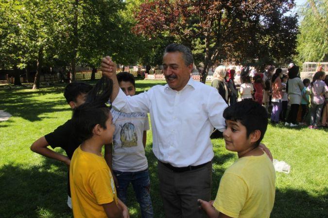 Seydişehir'de yaz Kur'an kursu öğrencileri piknikte buluştu