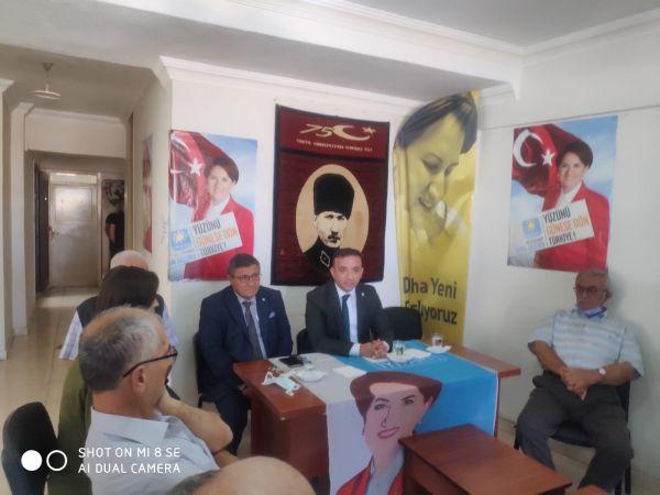 İyi Parti il Başkanı Ereğli'de konuştu