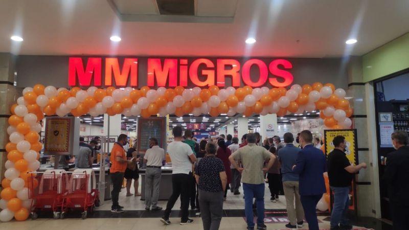 Ereğli'de Park Site Migros Açıldı