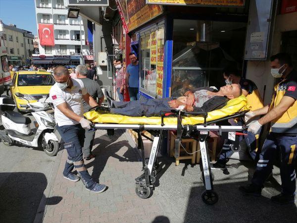 Konya'da çıkan bıçaklı kavgada iki kişi birbirini yaraladı