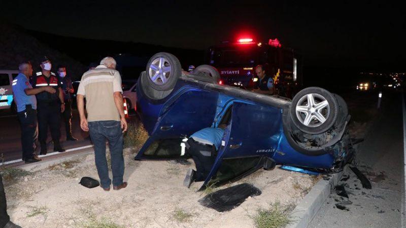 Köprü inşaatından uçan aracın sürücüsü öldü