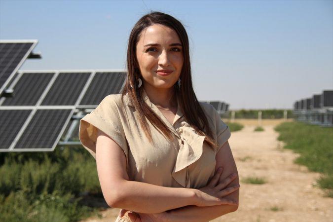 Genç kadın girişimci devlet desteğiyle kurduğu santralde 4 yerleşim yerinin elektriğini üretiyor