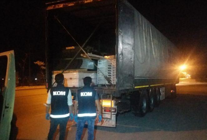 Konya'da sahte içki ve kaçakçılık operasyonunda 8 şüpheli gözaltına alındı