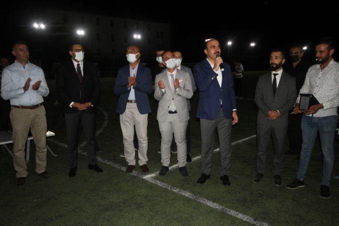 Beyşehir'de Gençler Arası Futbol Turnuvası yapıldı