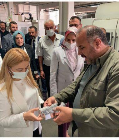 MHP Konya Milletvekili Esin Kara, Beyşehir ilçesini ziyaret etti