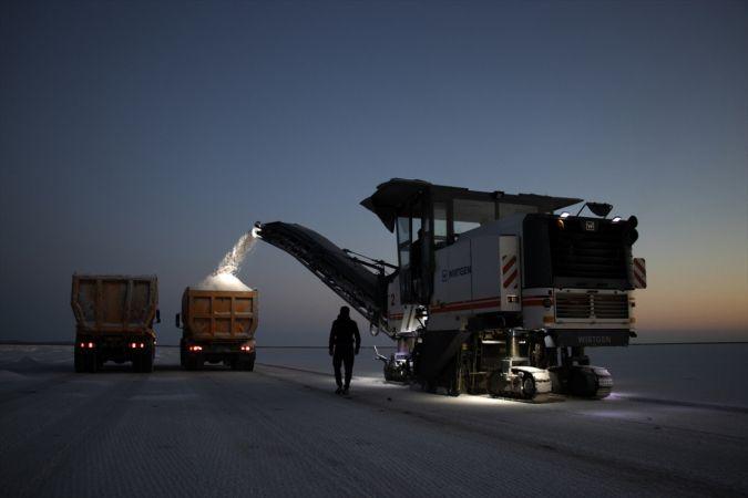 Bir paletle başladıkları tuz ihracatını 70 ülkede 200 bin palete çıkardılar