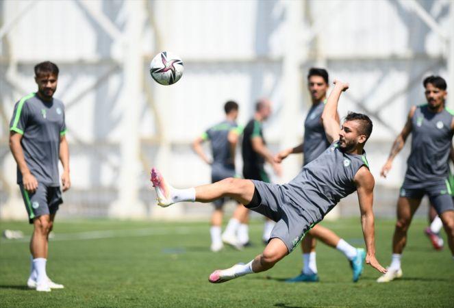 Konyaspor, Adana Demirspor maçı hazırlıklarını tamamladı