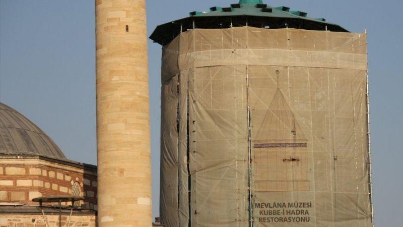 Mevlana Müzesi'ndeki Yeşil Kubbe'nin restorasyonu ne zaman tamamlanacak? Tarih verildi