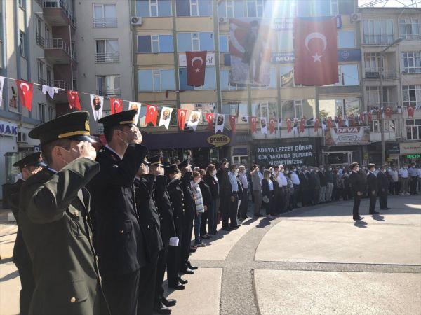 Konya ve ilçelerinde 30 Ağustos Zafer Bayramı kutlandı