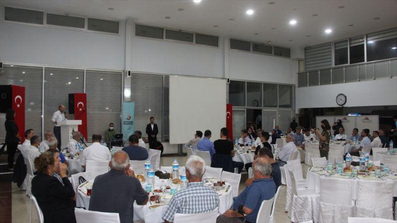 Seydişehir Kaymakamı Aydın Erdoğan'a veda yemeği