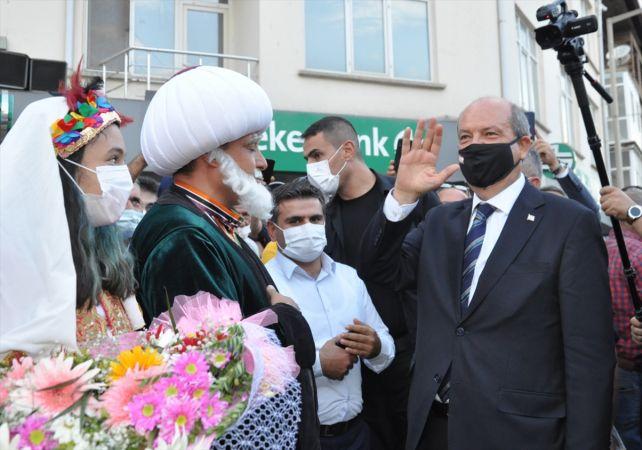 KKTC Cumhurbaşkanı Tatar, Konya'da ziyaretlerde bulundu