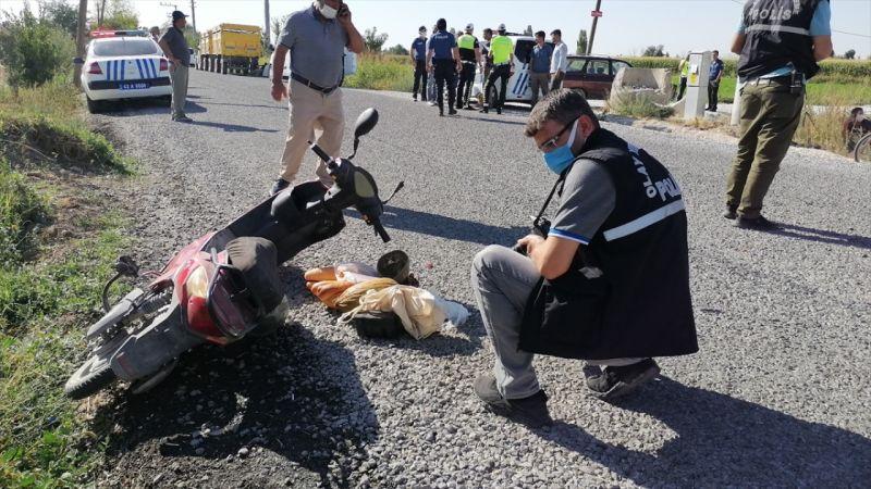 Ereğli'de traktörle çarpışan bisiklet sürücüsü öldü