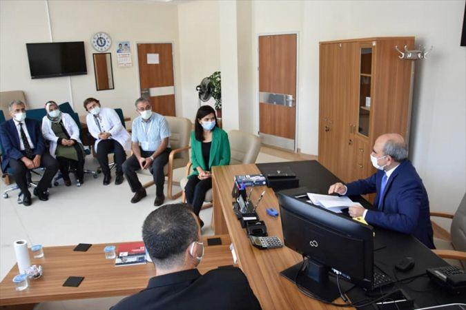 Konya İl Sağlık Müdürü Koç Seydişehir'i ziyaret etti