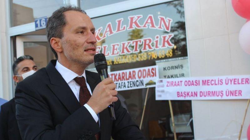 Fatih Erbakan Karapınar'da Parti binasının açılışını yaptı