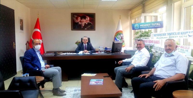 Başkan Tutal'dan Kaymakam Pişkin'e hayırlı olsun ziyareti