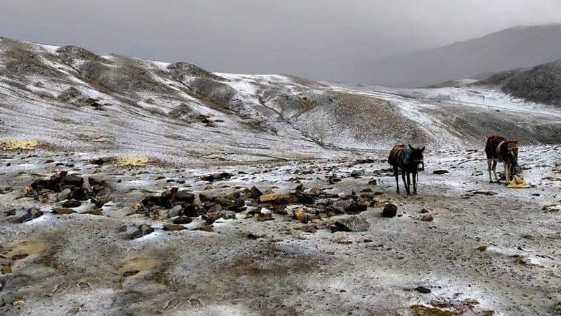 Berendi'ye kar düştü
