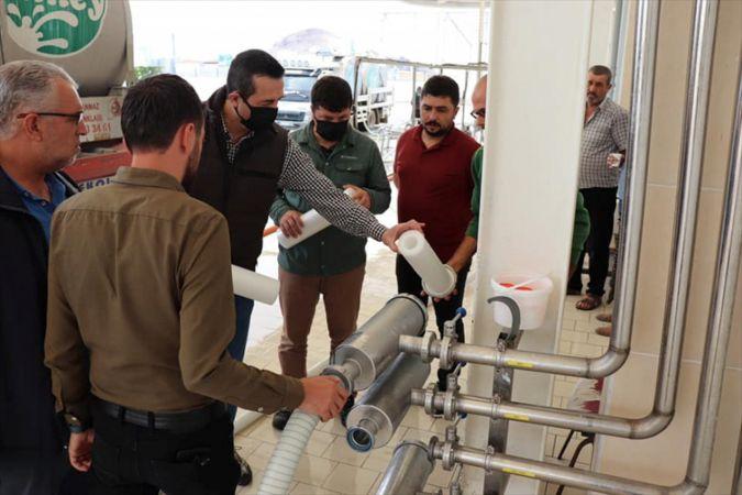 Hayvancılık Genel Müdür Yardımcısı Demirok Süt Üreticileri Birliğini ziyaret etti