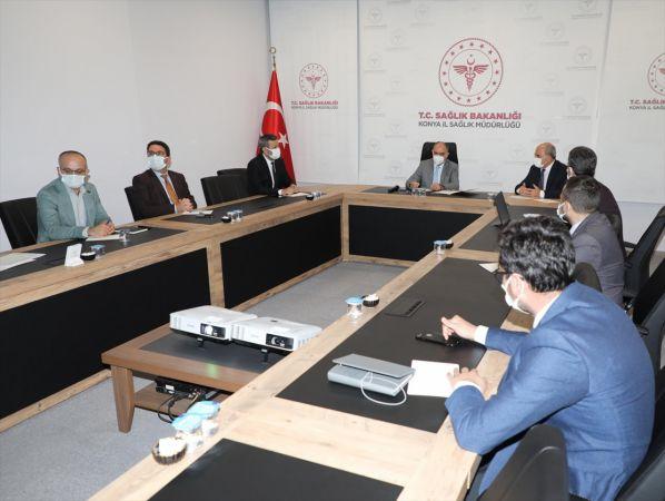 """Vali Özkan başkanlığında """"Pandemi Güncel Değerlendirme Toplantısı"""" yapıldı"""