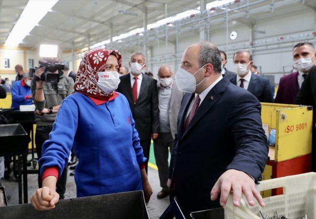 Sanayi ve Teknoloji Bakanı Mustafa Varank, Konya'da