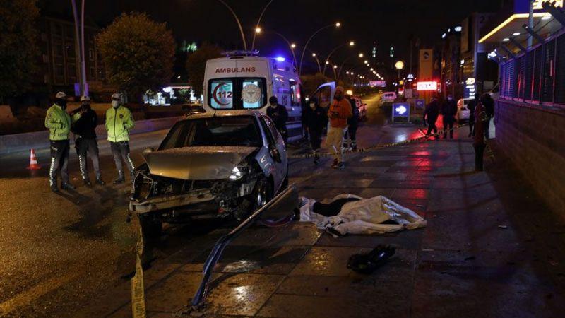 Başkentte kaza! Otomobil sürücüsü öldü