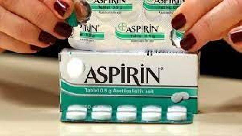 ABD'den dikkat çeken aspirin kararı!