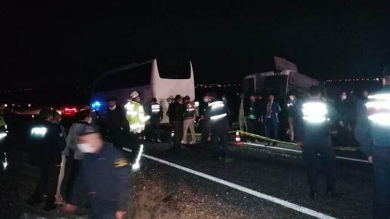 Nevşehir'de korkunç kaza! Öğrencileri taşıyordu