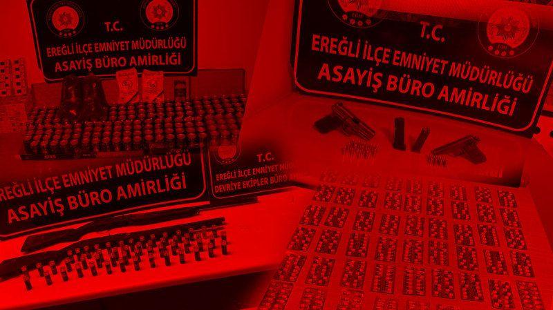 Ereğli'de 2 kişi tutuklandı! 10 kişi hakkında işlem yapıldı