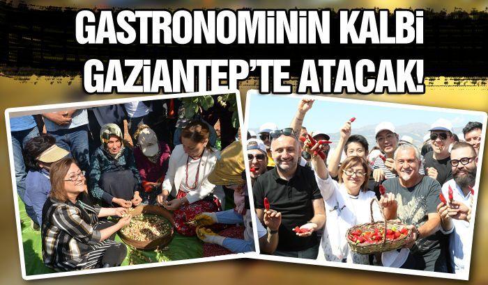 GASTRONOMİNİN KALBİ GAZİANTEP'TE ATACAK!