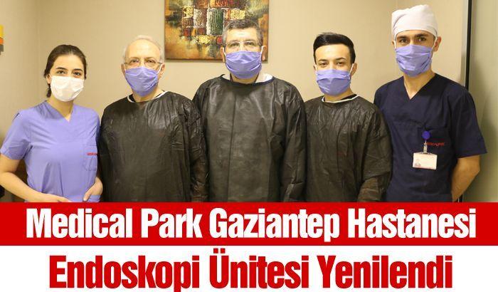 Medical Park Gaziantep Hastanesi Endoskopi Ünitesi Yenilendi