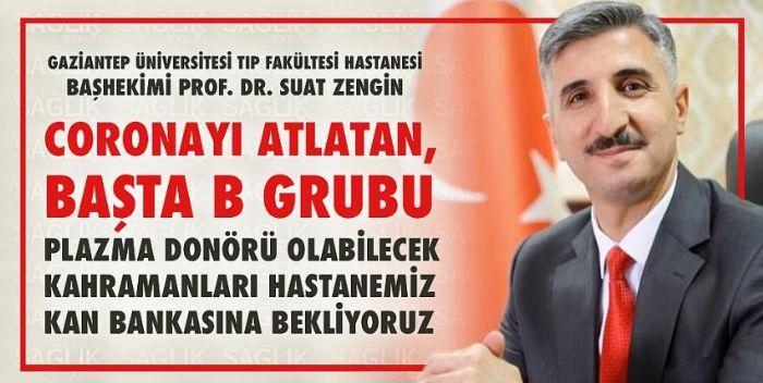 PROF DR. SUAT ZENGİN'DEN HAYATİ ÇAĞRI..