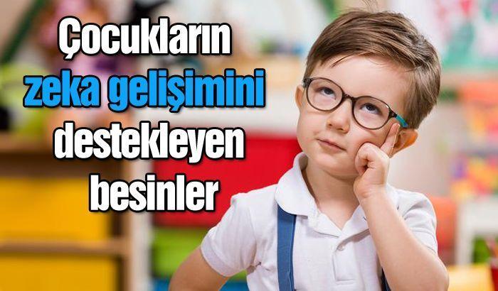 Çocukların zeka gelişimini destekleyen besinler