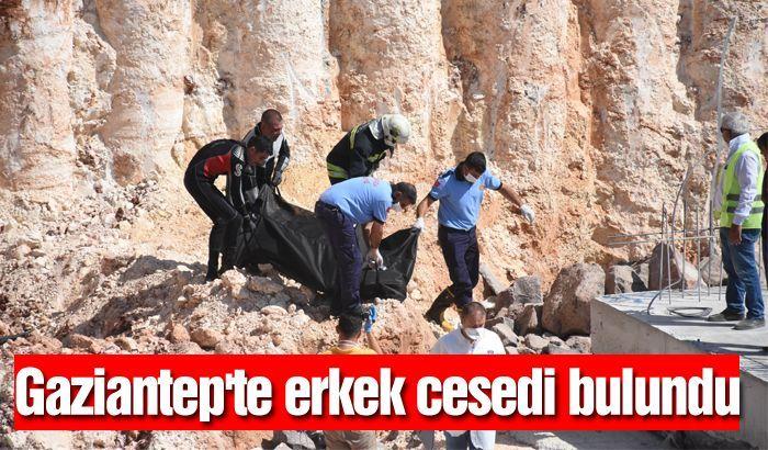 Gaziantep'te erkek cesedi bulundu