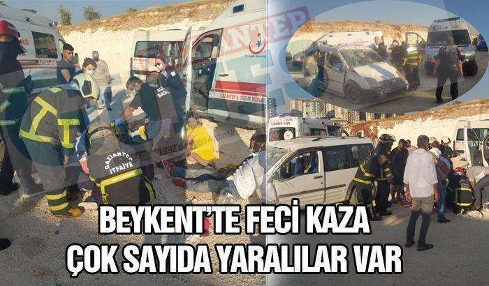 BEYKENT'TE FECİ KAZA 9 YARALI