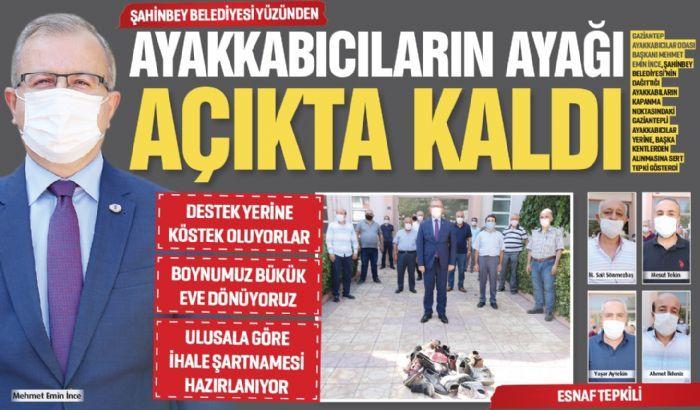 AYAKKABICILARIN AYAĞI AÇIKTA KALDI..