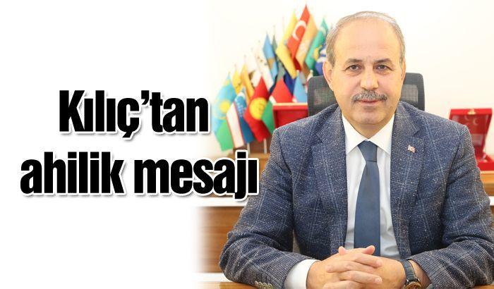 Ahilik Türkiyenin manevi muhafızıdır