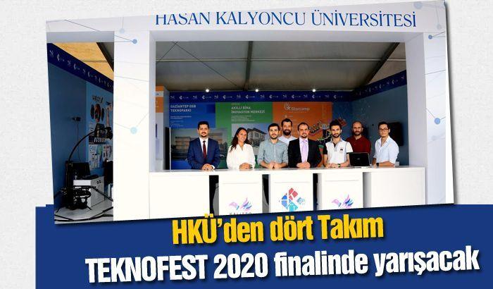 HKÜ'den dört Takım TEKNOFEST 2020 finalinde yarışacak