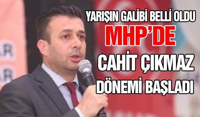 Milliyetçi Hareket Partisi (MHP) Gaziantep 13. İl Kongresi'nin galibi Cahit Çıkmaz oldu.