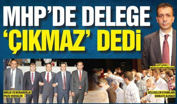 MHP'de delege 'Çıkmaz' dedi