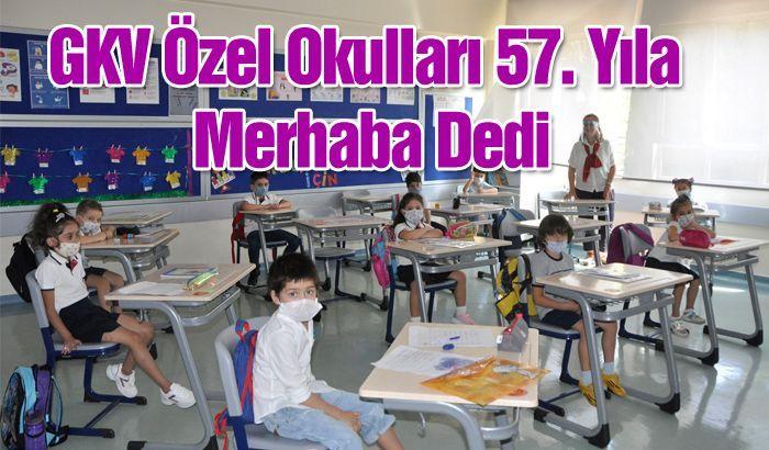 GKV Özel Okulları 57. Yıla Merhaba Dedi