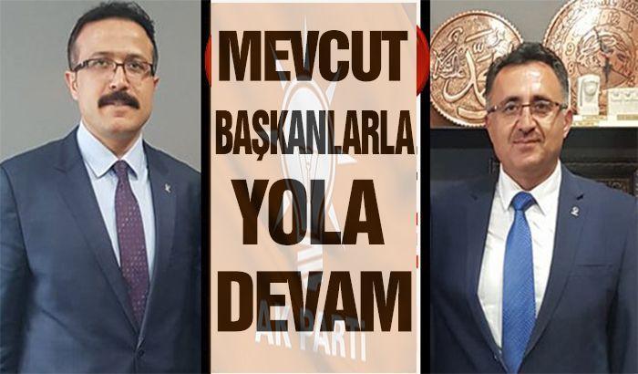 AK Parti mevcut başkanlarla yola devam edecek